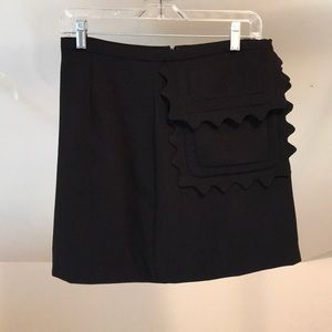 Black Victoria Beckham target collection skirt